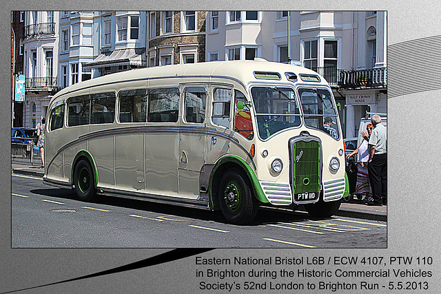 Eastern National Bristol L6B coach Brighton 5 5 2013