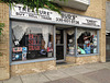 "This place is famous: the ""Treasure Bud's Chest"" shop in downtown Wooster, Ohio."