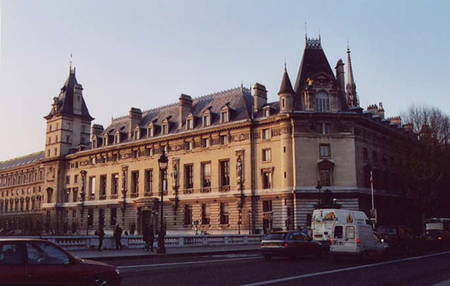 The Palace Of Justice in Paris, March 2004