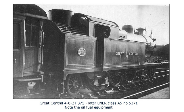 GC - 4-6-2T 371  - LNER cl A5 WHW