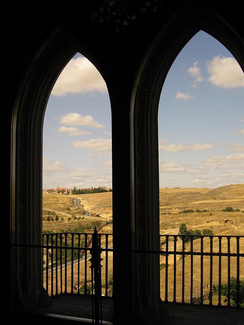 window at El Alcázar