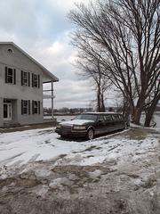 Riverfront limousine of Ohio River.