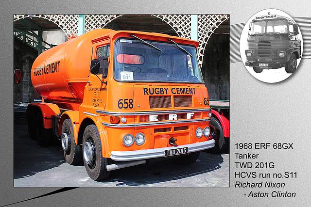 S11 ERF 68GX Tanker TWD 201G