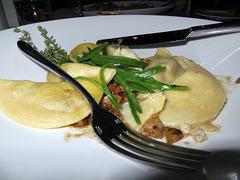 Steinpilz-Ravioli