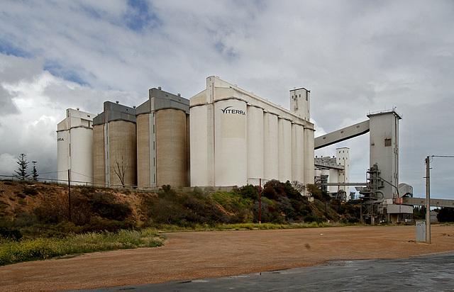 Wallaroo grain silos