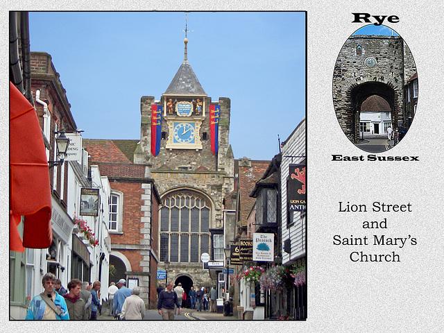 Rye Lion Street
