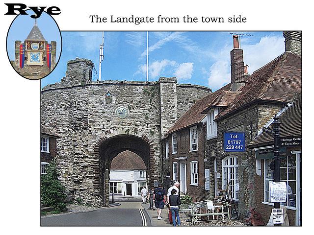 The Landgate, Rye 6 8 2007