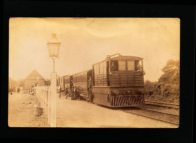GER G15 LNER Y6 Upwell Station