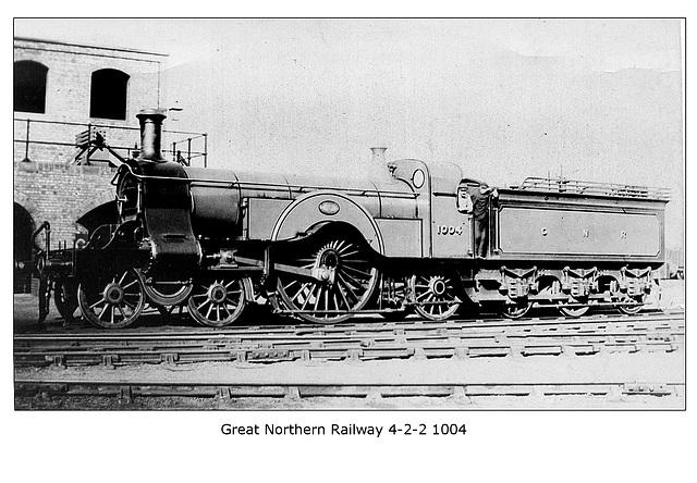 GNR - 4-2-2 No 1004 - LPC
