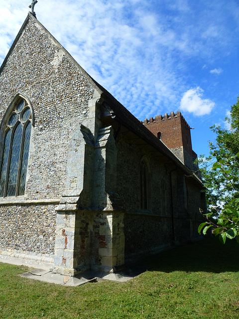 little wenham church, suffolk