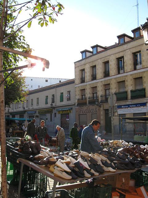 zapatos at El Rastro