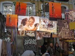 art at El Rastro