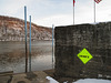 "Angry ""no fun allowed"" sign but not anymore, thanks to Ohio River Valley local young people."