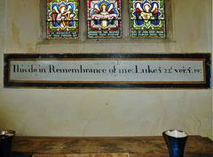 badley church, suffolk