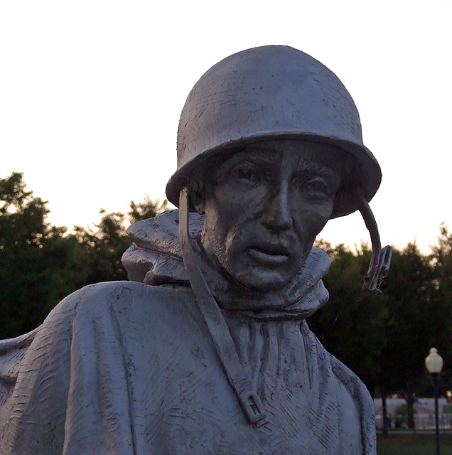 Detail of the Korean War Veterans Memorial, September 2009