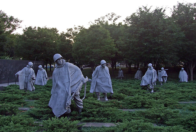 The Korean War Veterans Memorial, September 2009