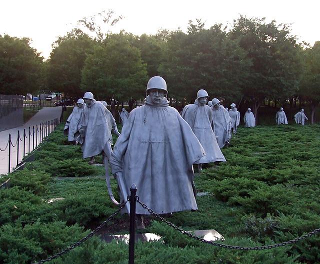 The Korean War Veterans Memorial, September 2009