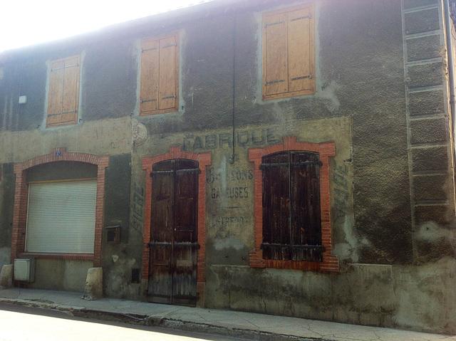 À Quillan dans l'Aude. France