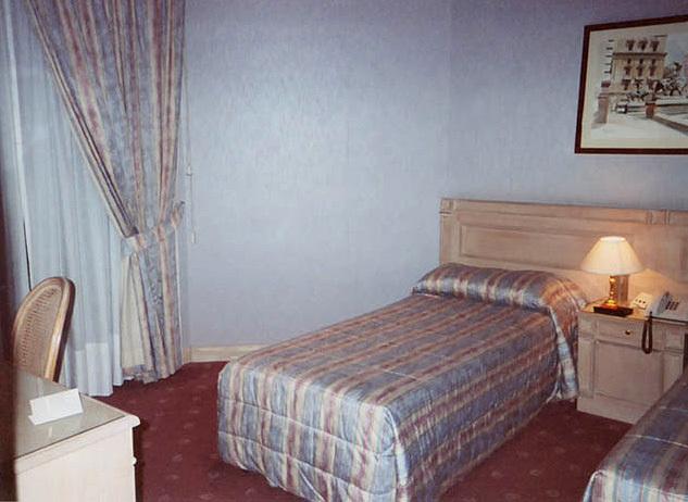 Hotel Bedroom in Naples, Nov. 2003