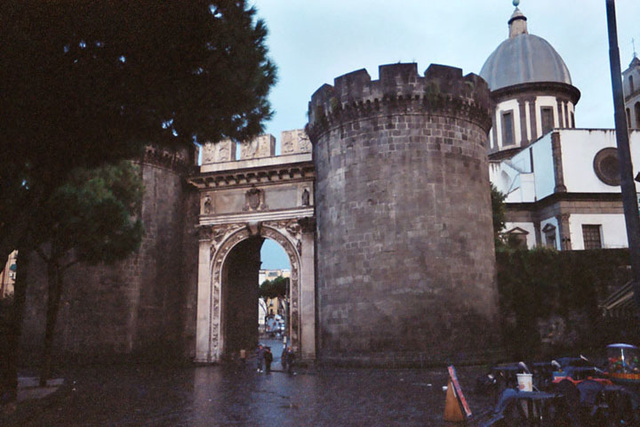 Gate in Naples, Nov. 2003