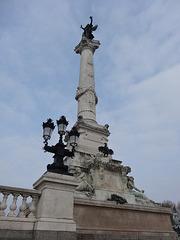 Das Monument aux Girondins  in Bordeaux