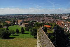 BESANCON: Vue de la ville depuis la tour du Roi.