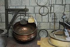 BESANCON: Musée de la laiterie de la citadelle.