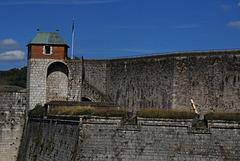 BESANCON: La tour de roi de la citadelle.