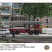 LFB 1990 Volvo Angloco Bronto Skylift E Dulwich 9 7 2005