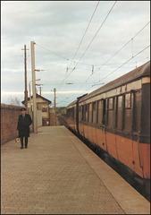 Howth station platform