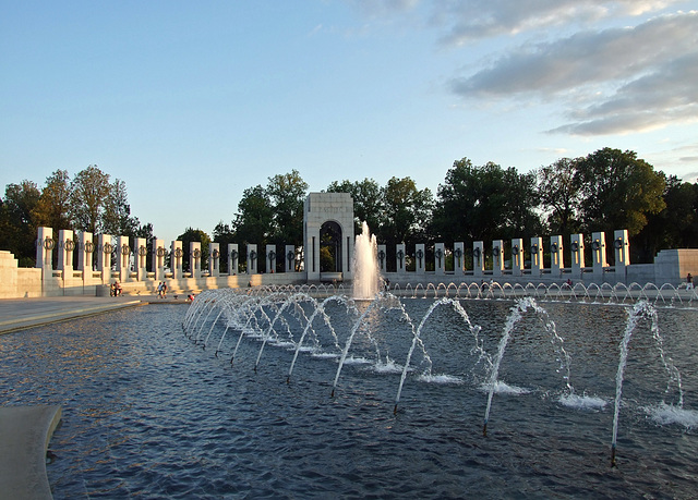 The WWII Memorial, September 2009
