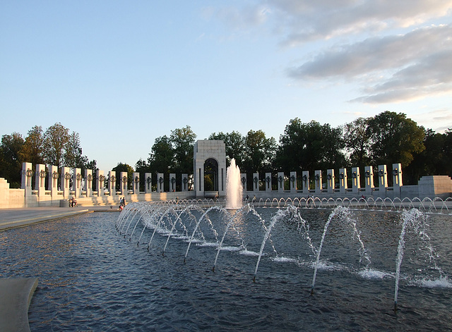 The WWII Memorial, September 2009