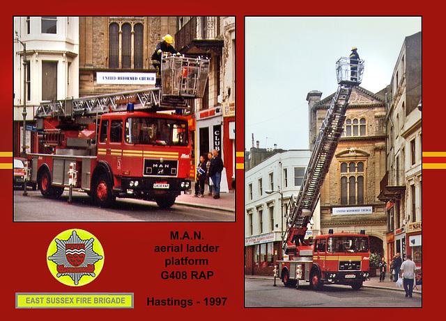 Hastings aerial ladder platform 1997