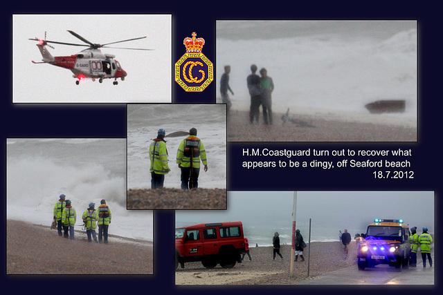 HM Coastguard Seaford 18 7 2012