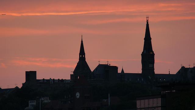 Georgetown, dusk