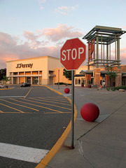 Stopping here where Target land transitions to JCPenney land.