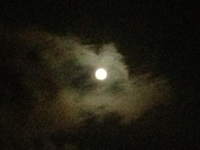 21 d'agost 2013 Lluna Plena, esperant el Joel