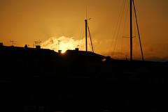 SAINT-RAPHAEL: Levé de soleil.