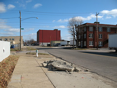 From when I was in Huntington, West Virginia, looking @ the spot where 7th Avenue & 12th Street touch.