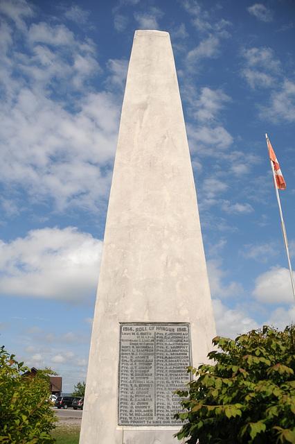 War Memorial, Hilton Beach