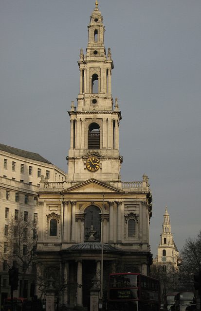 St Mary-le-Strand and St Clement Danes