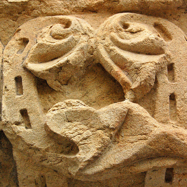 Sabloŝtona ornamento- Sandsteinornament