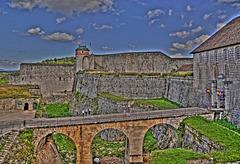 BESANCON: La citadelle: la tour du roi.