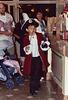 Boy Dressed as Captain Hook in Disneyland, 2003
