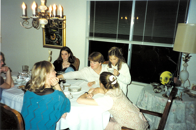 Thanksgiving 1994 at Grammie's
