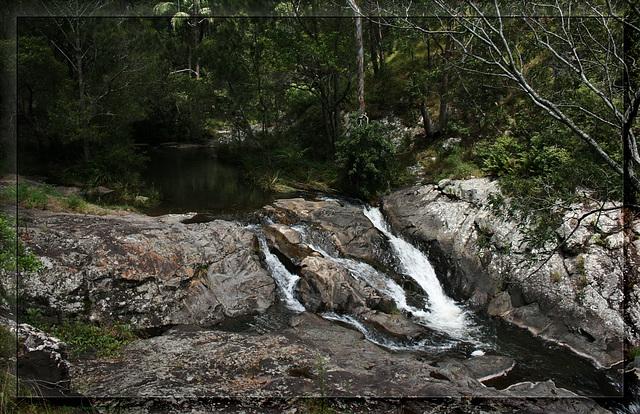 Head of Cedar Creek Falls