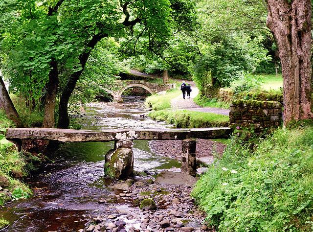 Bridges at Wycoller.