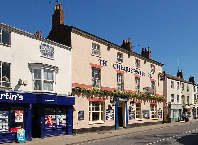 The Chequers Hotel, High Street, Holbeach, Lincolnshire