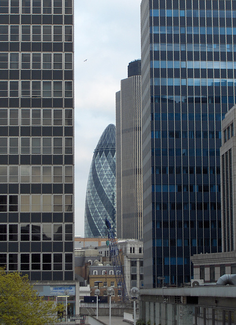 30 St Mary Axe and Tower 42