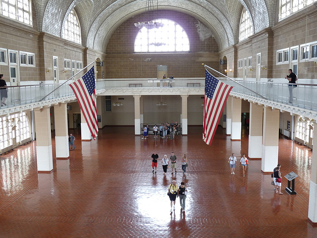 Main Hall, Ellis Island